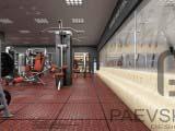 спортзал для тренировок со свободными весами