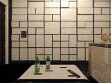 3d панель в оформлении кабинета