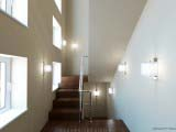 лестница в общественном интерьере