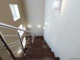 оформление лестницы для общественных помещений