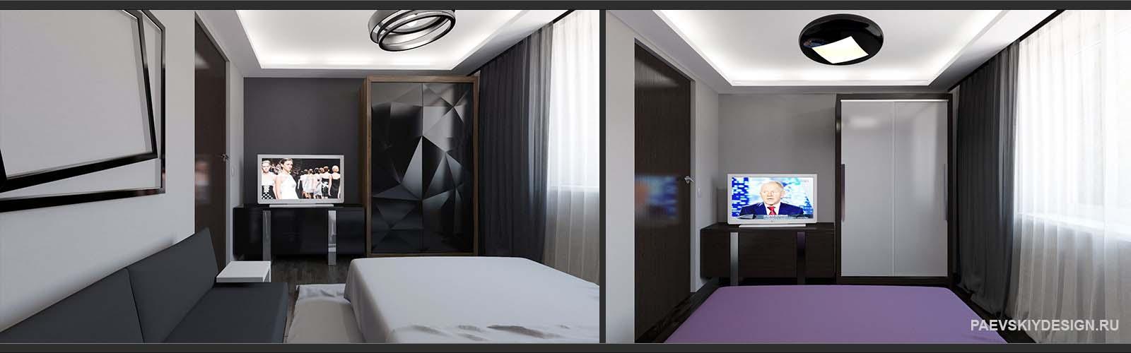 Варианты оформления спальни в современном стиле