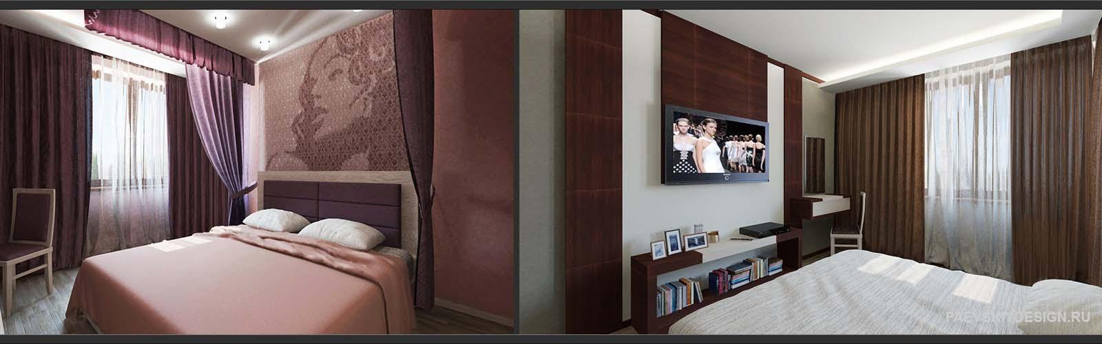 Идеи оформления спальни в квартире