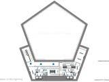 схема расположения источников освещения в интерьере
