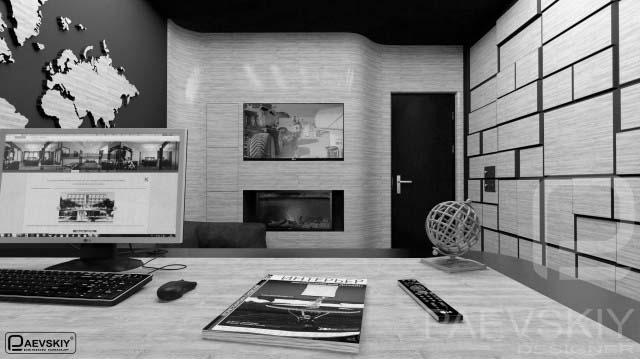 Современный дизайн кабинета в квартире