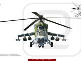 3D модель МИ-24