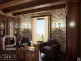 дизайн кабинета загородного дома