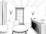 Эскиз оформление кабинета