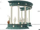 Архитектурная композиция Арка - Athene