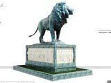памятник лев для скверов парков