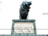 архитектурная композиция монумент