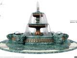 фонтан для оформления парков