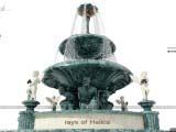 концепция дизайна фонтана