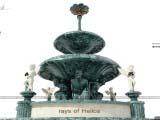 Архитектурная композиция Фонтан - Rays of Helios