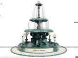 фонтан в античном стиле