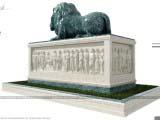 Архитектурная композиция Монумент - Lion