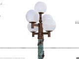 дизайн фонаря для оформления парков
