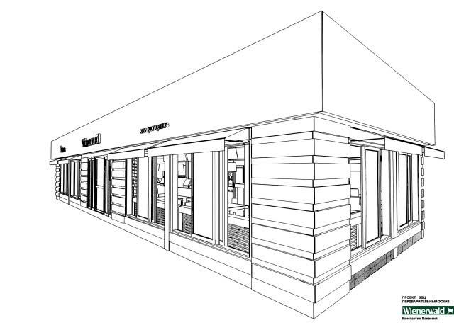 3d эскизы, развертки строения, сооружения