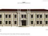 классическое оформление экстерьера здания