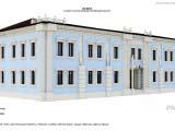 оформление экстерьера здания