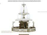 дизайн фонтана в классическом стиле