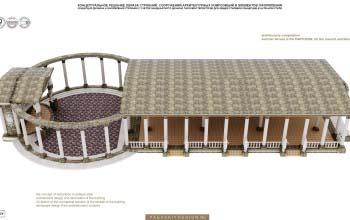 Летняя терраса для торжеств PANTEON.