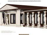 дизайн экстерьера здания в классическом стиле