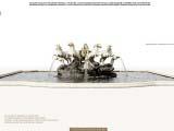 Дизайн фонтана и классическое оформление, создание архитектурного образа