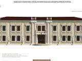 оформление экстерьера здания строения