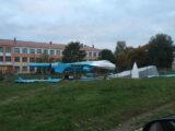 Строительство площадки под экспозицию
