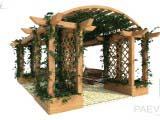 пергола для загородного дома