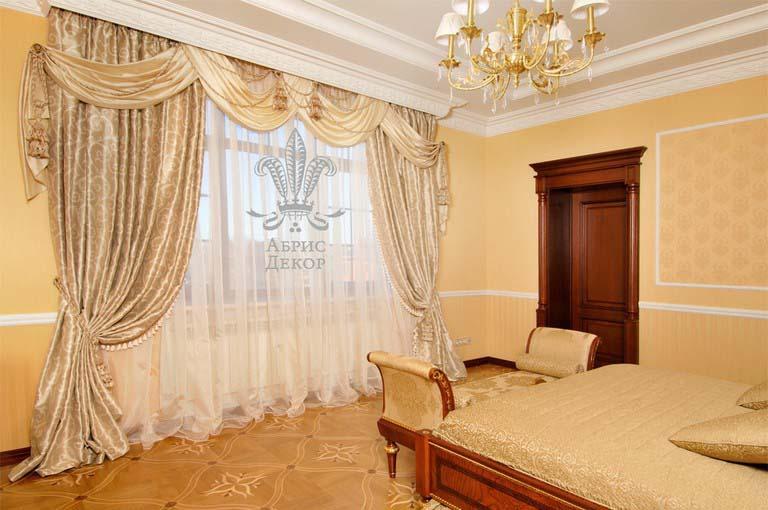 Шторы для классической гостиной дизайн