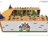 дизайн островного павильона