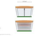 дизайн и оформление островного павильона