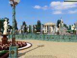 ландшафтный дизайн парка, сквера