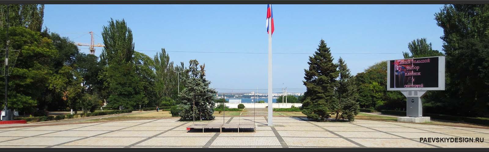 г. Керчь, площадь им. В.И.Ленина.