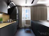оформление кухни в современном стиле в загородном доме