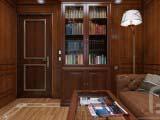 Деревянные панели для интерьера комнаты