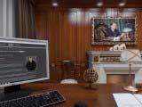 Деревянные панели для интерьера кабинета