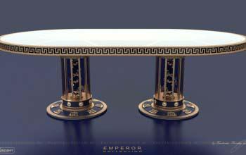 Обеденный стол EMPEROR в стиле Русский ампир.