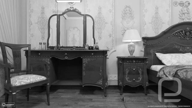 Классический дизайн интерьера спальни в квартире