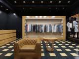 Современное оформление магазина одежды