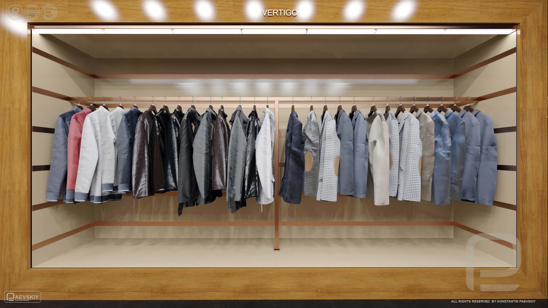 3d визуализация магазина
