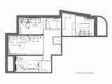 схема зонирование и расстановки мебели