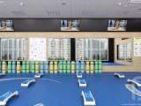 дизайн интерьера фитнесс центра