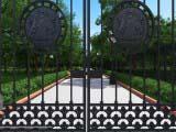 дизайн ворот для парка
