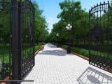 дизайн ворот для сквера
