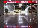 Входная группа в фитнес клуб SAVAGE