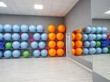 Зал групповых занятий фитнес клуба