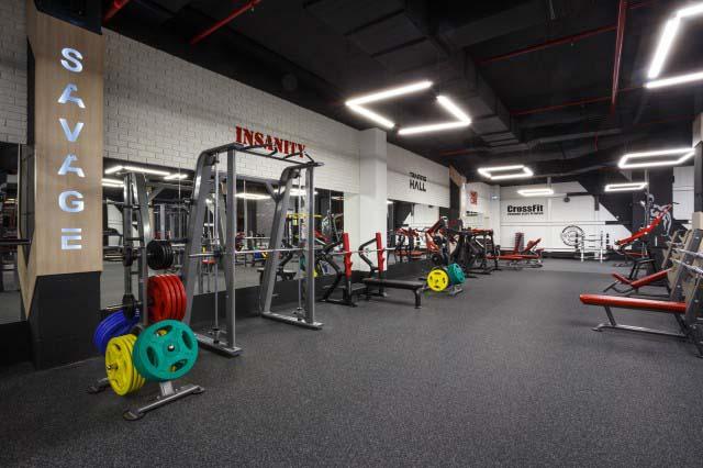 дизайн тренажерного зала фитнес клуба