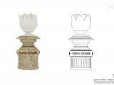 Эскиз архитектурного решения скульптурной композиции